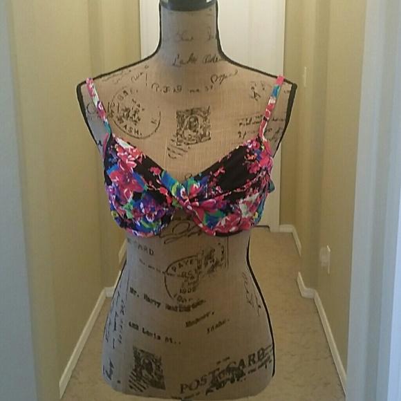 Liz Claiborne Other - 2 Multi  Color  Bikini  Tops